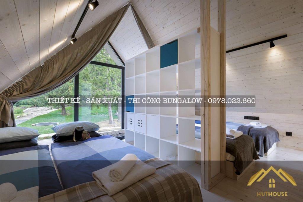 Khám phá không gian nội thất một số mẫu nhà gỗ