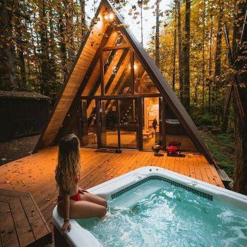 Những mẫu thiết kế nhà gỗ lắp ghép giá rẻ, thu hút khách du lịch