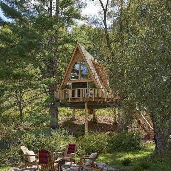 Đơn vị thi công, thiết kế bungalow gỗ thông chất lượng