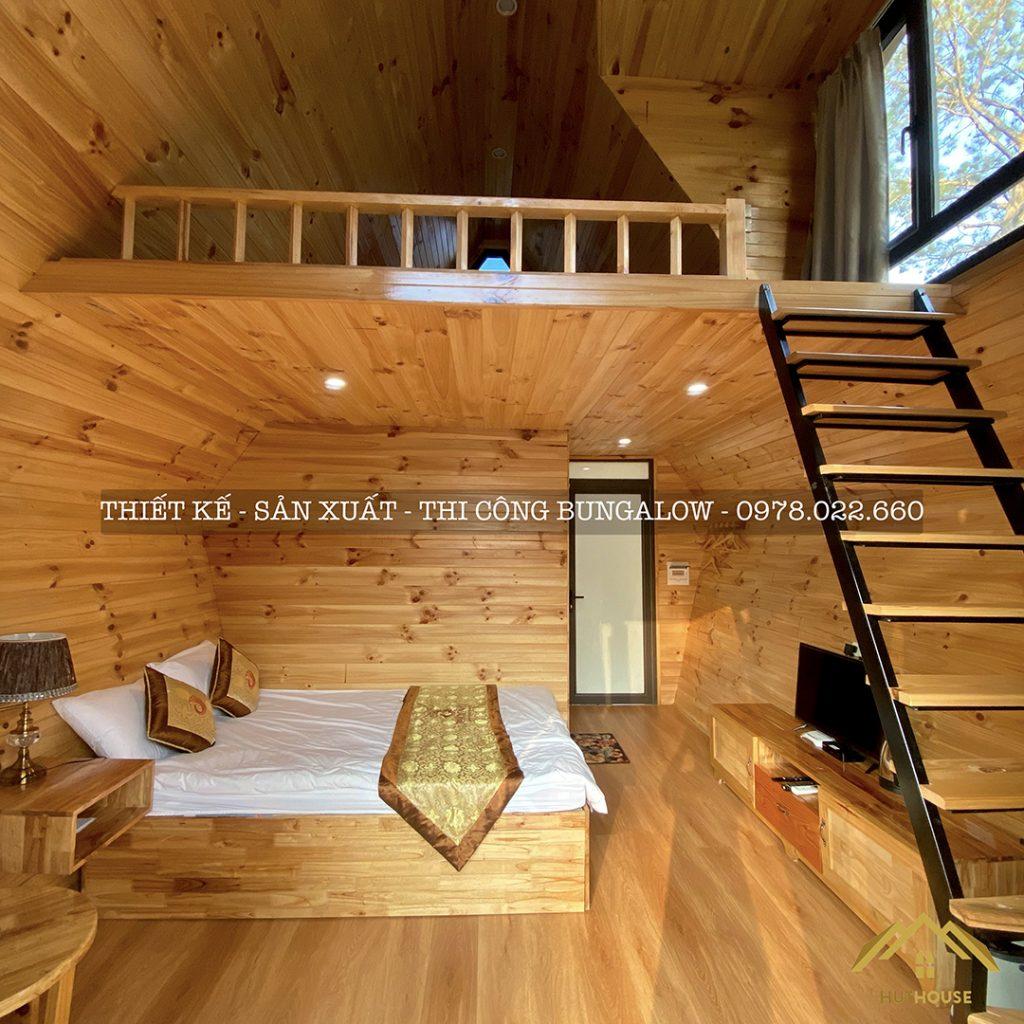 HUT HOUSE - Đơn vị thi công bungalow chất lượng, giá tốt