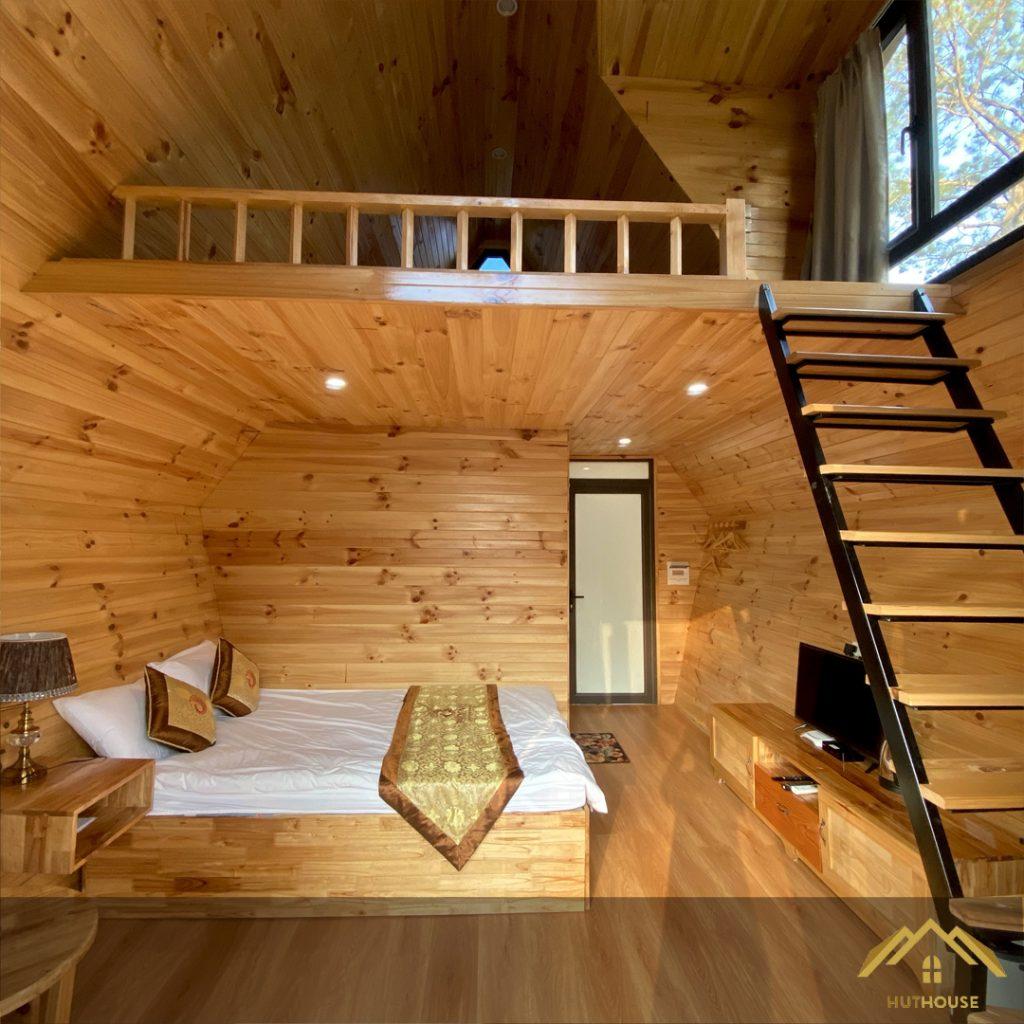 Nét đặc trưng nổi bật của nhà gỗ homestay