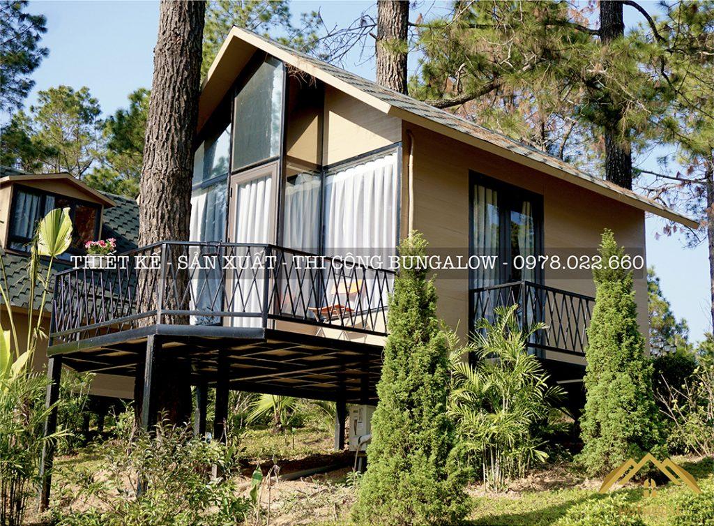 Nhà bungalow sinh thái đẹp