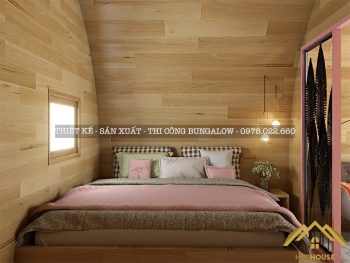 Nội thất nhà mái vòm