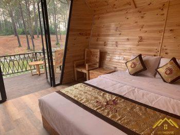 Nhà gỗ Bungalow Nha Trang giá cả bình dân