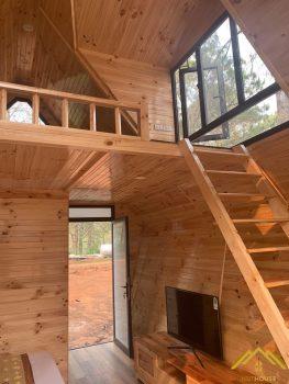 Mẫu thiết kế Bungalow gỗ thông có gì nổi bật