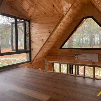 Nhà bungalow - Nhà gỗ homestay: Diamonond House (Nhà kim cương)
