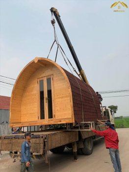 Thế nào là nhà gỗ di động ?
