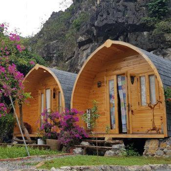 Nhà Bungalow, nhà gỗ homestay DOME HOUSE