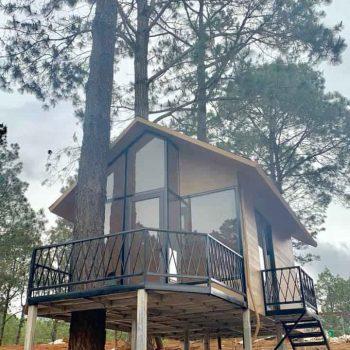 Nhà Bungalow - Nhà gỗ homestay: ECO HOUSE (NHÀ SINH THÁI)