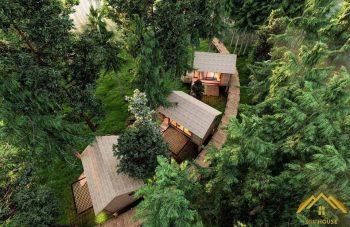 Bungalow tại khu sinh thái Vân Long - Ninh Bình