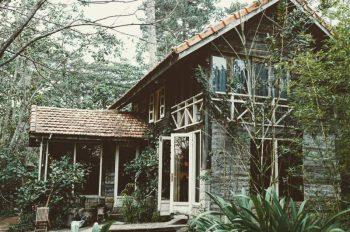 Nhà gỗ homestay ẩn mình nơi núi rừng