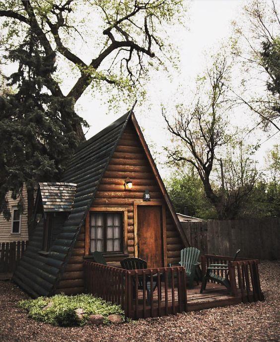 Mê mẩn trước những bungalow trong rừng đẹp lung linh