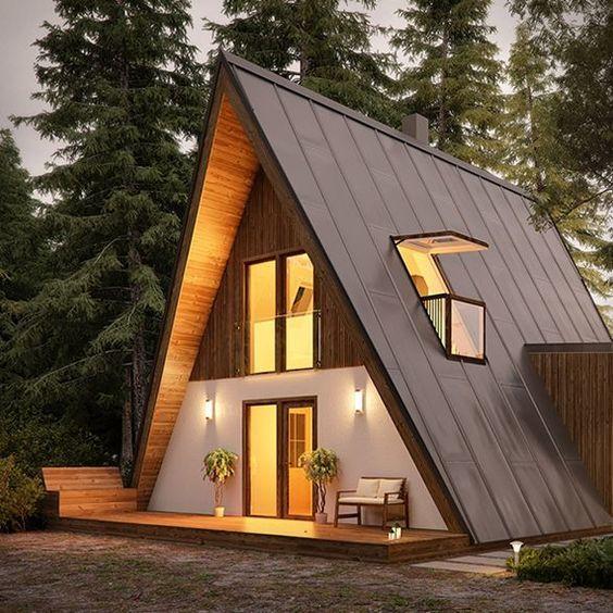 Mẫu nhà lắp ghép dạng bungalow