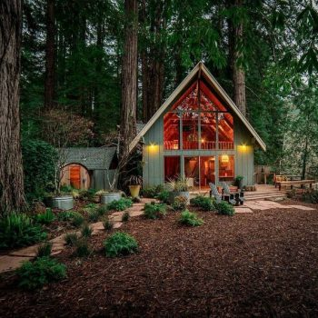 Ngẩn ngơ trước nét tinh khôi của những căn nhà gỗ mini đẹp nhất năm 2020