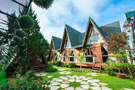 Thiết kế nhà gỗ resort gần gũi với thiên nhiên