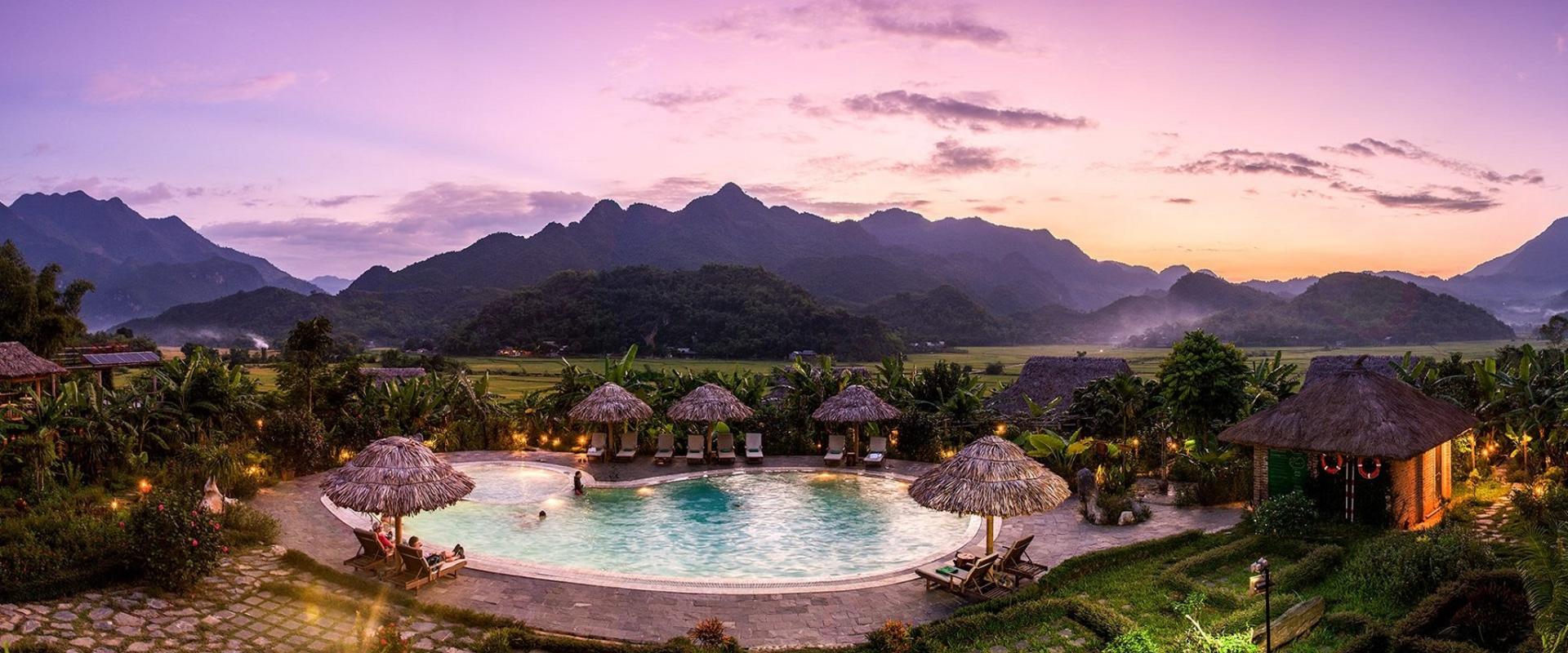 Mai Châu Ecolodge - Top địa điểm bungalow Hòa Bình