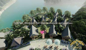 Thiết kế homestay nhà gỗ sang trọng, tiện nghi cho các khu nghỉ dưỡng