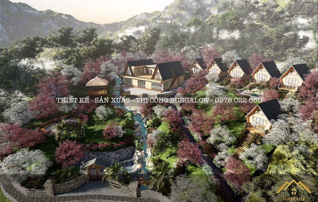 Bungalow - Mô hình nghỉ dưỡng đưa khách hàng đến gần hơn với thiên nhiên
