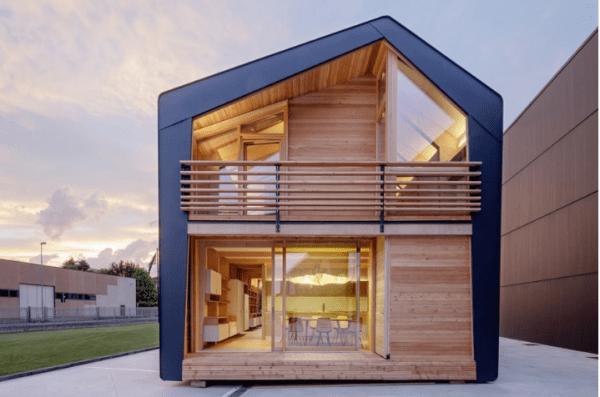 Nhà lắp ghép có bị giới hạn về thiết kế kế trúc hay không?