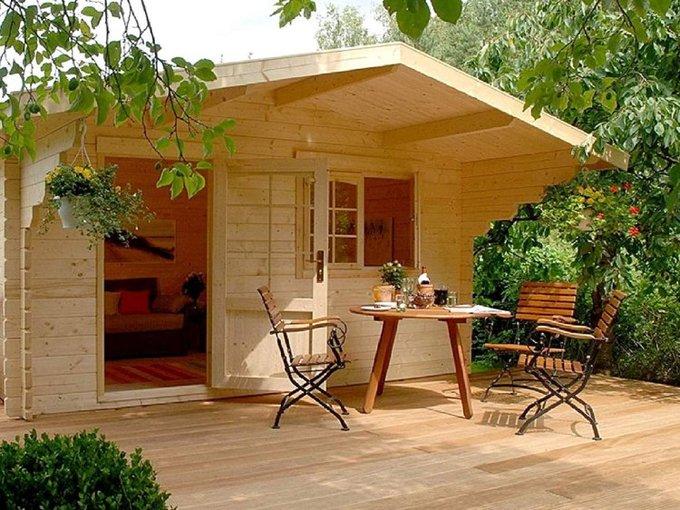 Thiết kế nhà lắp ghép bằng gỗ thông