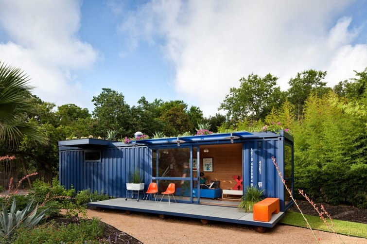 Phong cách thiết kế nhà lắp ghép container